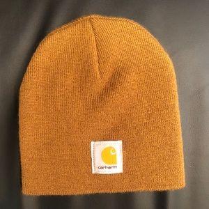 Mustard Yellow Carhartt Beanie - NWOT